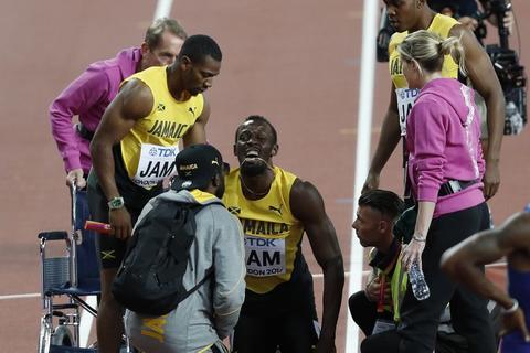 Video: así fue la dramática lesión que pone fin a la carrera de Bolt