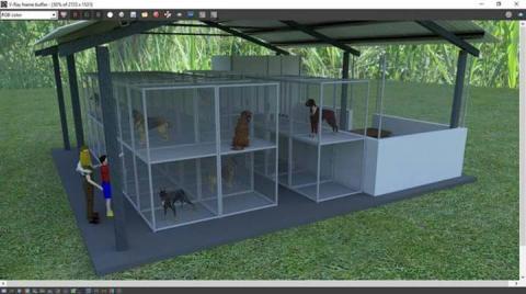 Así será el albergue de mascotas que funcionará próximamente en Mixco