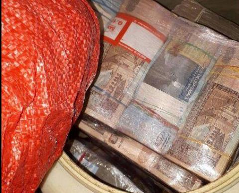 Se ha incautado dinero en efectivo y armas de fuego. (Foto: PNC)
