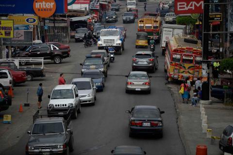 Barberena, uno de los puntos más complicados del tráfico hacia oriente