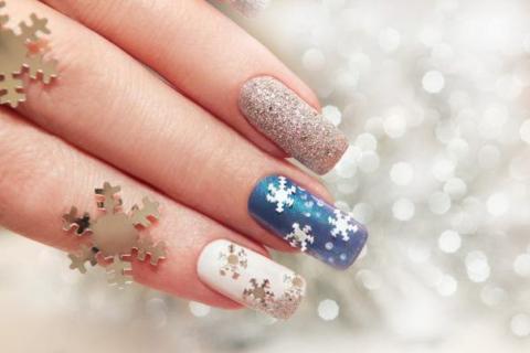 """Diez ideas para lucir un hermoso """"nail art"""" navideño"""