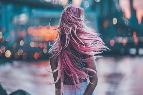 El extraño color de cabello que está de moda en Instagram