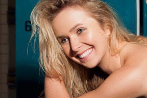 La bella tenista ucraniana que participó en atrevida sesión de fotos