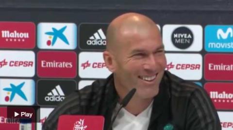 """Preguntan a Zidane: """"¿Quién es mejor, CR7 o Zinedine Zidane?"""""""