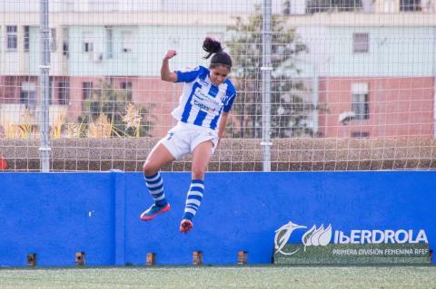 Ana Lucía Martínez anotó gol en España durante el fin de semana