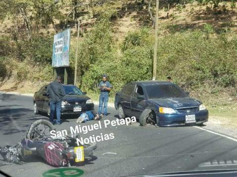 Fallas en automóvil provocan terrible accidente en Villa Canales