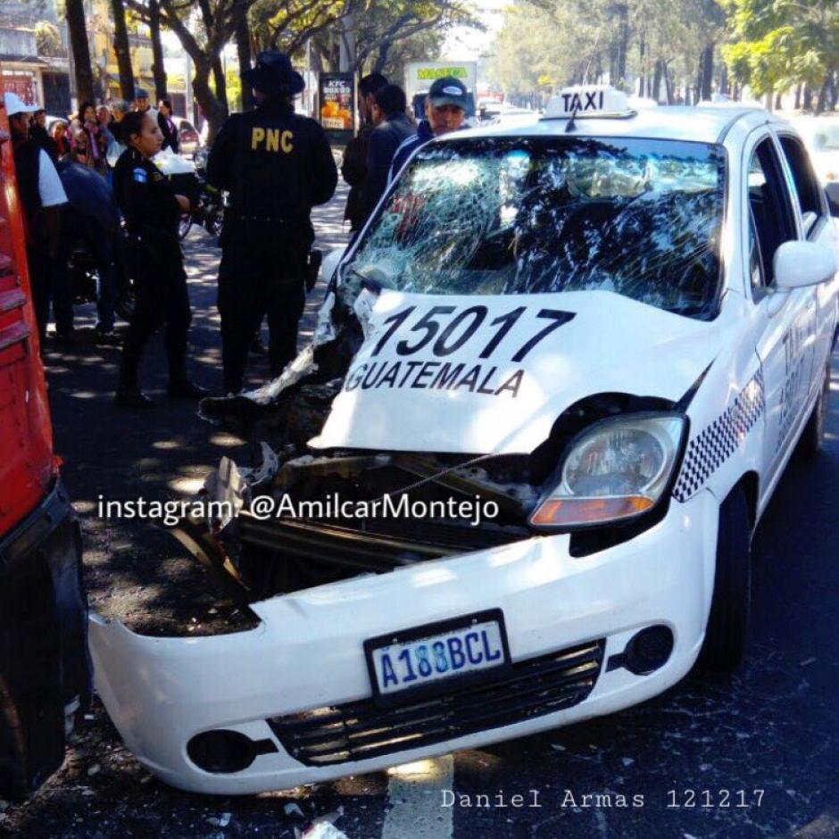 Tres heridos en accidente de tránsito en el Periférico