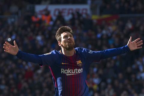 Así vivieron los seguidores del Real Madrid la celebración de Messi