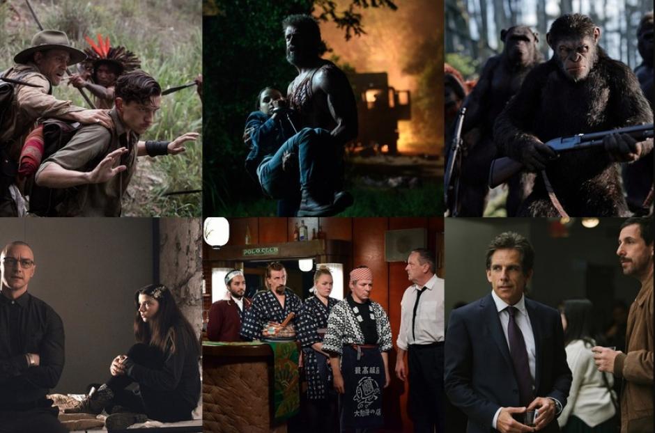 ¿Cuáles fueron las mejores películas de 2017?
