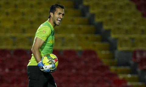 Ricardo Jerez se prepara para jugar la Copa Sudamericana