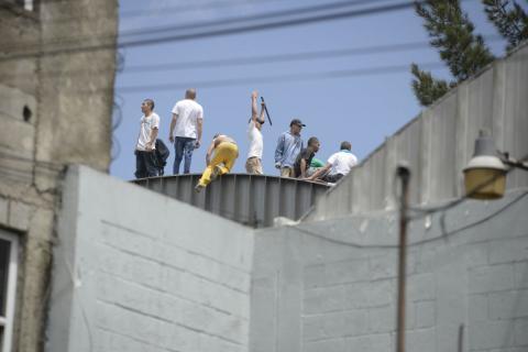 Así se intentan escapar los reclusos de Las Gaviotas