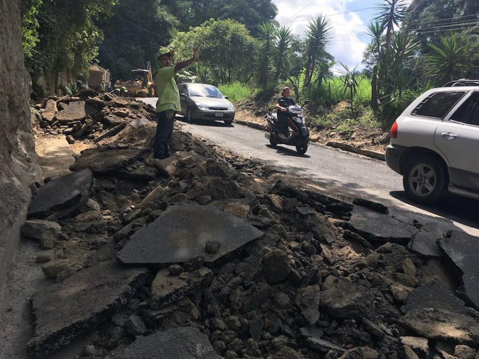 Cráteres por doquier: el calamitoso estado de la red vial