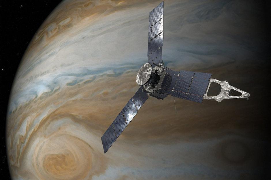 NASA observa la Gran Mancha Roja de Júpiter a una distancia histórica