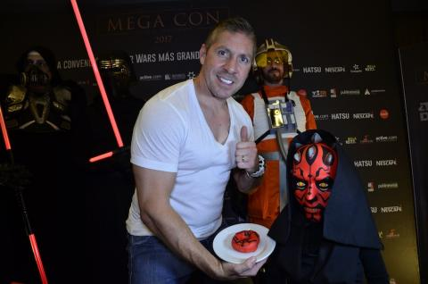 """Darth Maul"" visita Guatemala para participar en ""Mega Con 2017"""