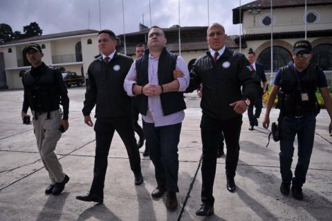 Así fue la extradición de Javier Duarte hacia México