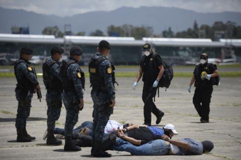 Así se llevó a cabo el simulacro de atentado terrorista en La Aurora