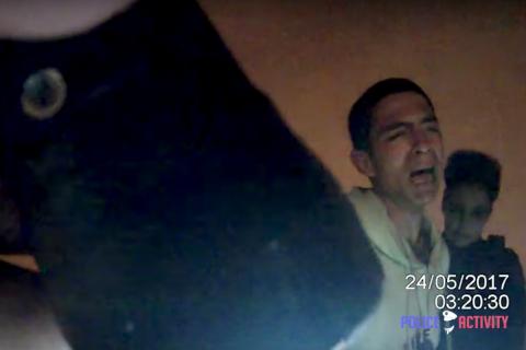 La policía atrapa a un ladrón y él hace una curiosa solicitud