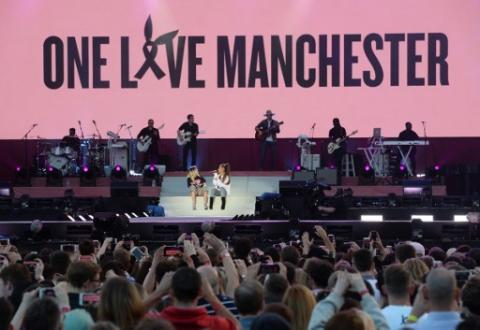 Así fue el concierto benéfico de Ariana Grande en Mánchester
