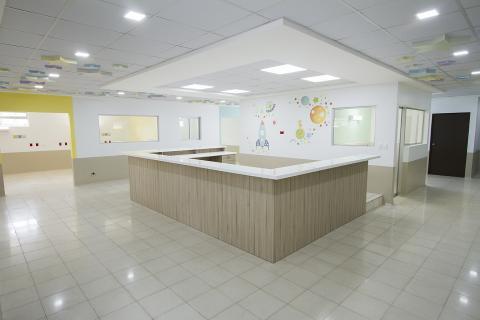 Así es la ampliación del área de Pediatría del Hospital Roosevelt