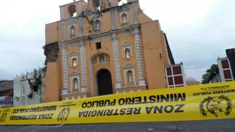 Las imágenes de lo que dejó el fuerte temblor que sacudió al país