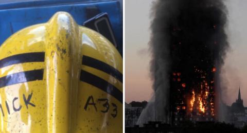 El impactante tuit de bombero que participó en el incendio de Londres