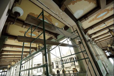 El Palacio Nacional sufrió daños luego del fuerte sismo