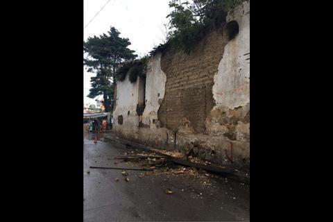 El recuento de los daños tras el nuevo sismo que afectó Guatemala