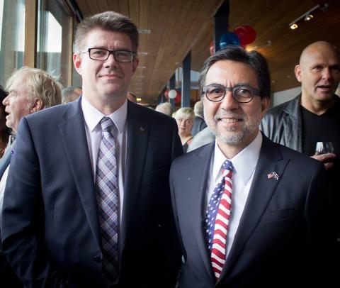 Luis Arreaga: el diplomático que podría reemplazar a Todd Robinson