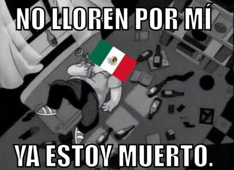 """Los """"memes"""" le anotan otra goleada a México en redes sociales"""