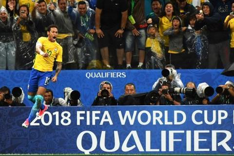 La selección de Brasil es la segunda clasificada al Mundial Rusia 2018