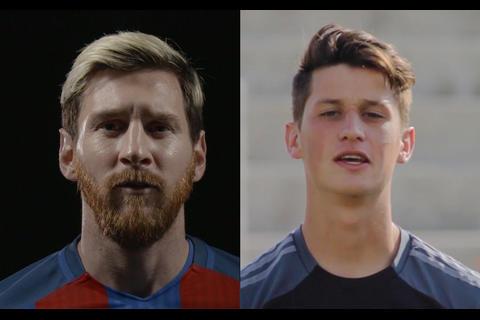 Messi y Hagen le hablan a los aficionados guatemaltecos del fútbol