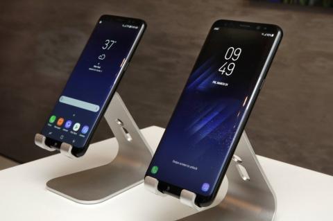 Samsung presentó su novedoso modelo Galaxy S8