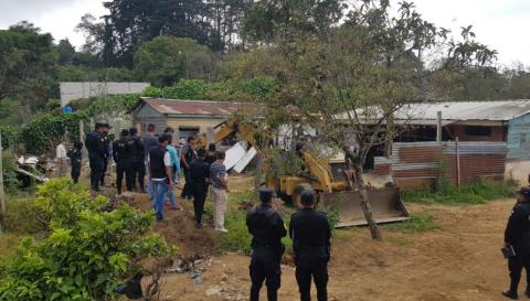 PNC confirma hallazgo de restos humanos en guarida de Mara Salvatrucha