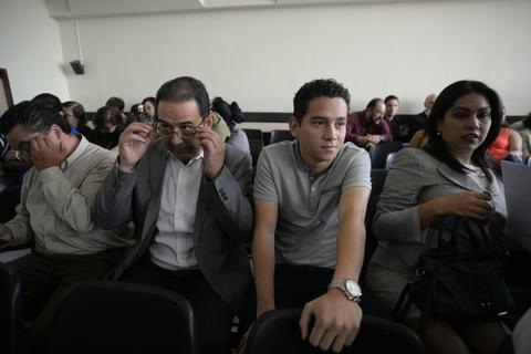 Hijo y hermano del presidente Jimmy Morales sabrán si van a juicio