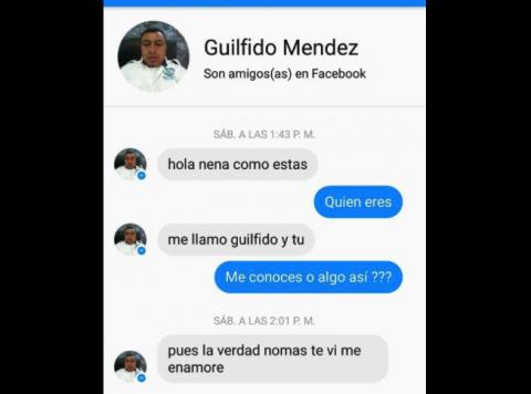 Investigan a empleado de comuna de Villa Nueva por acoso en Facebook