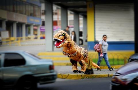 ¿Qué hacían estos dinosaurios en San Cristóbal?