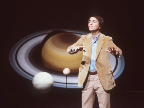 La grandeza de Carl Sagan