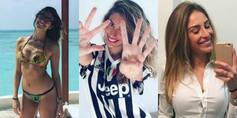 Valentina Allegri, la sexy hija del entrenador de la Juventus