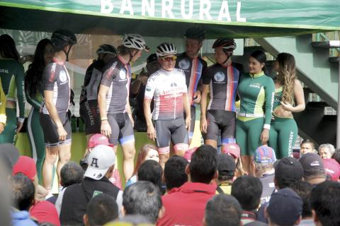 Emeterio Vicente, el ciclista nacional adoptado por el equipo holandés