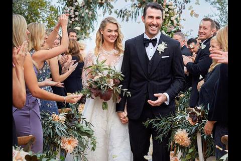 Así fue la secreta pero sensacional boda de Kate Upton y Verlander
