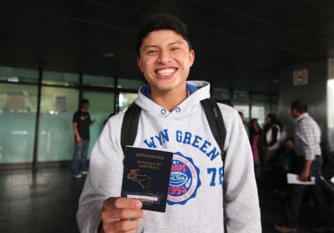 Guatemalteco tiene visa para un sueño en el fútbol español