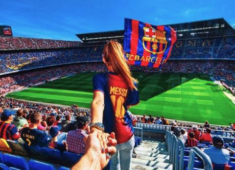 El Camp Nou es el estadio en el que más se va a buscar pareja