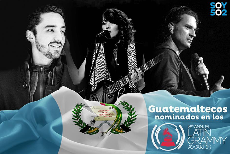 Ellos son los guatemaltecos nominados a los Latin Grammy