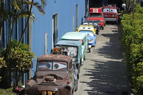 """En Guatemala está la colección más grande y funcional de """"Cars"""""""