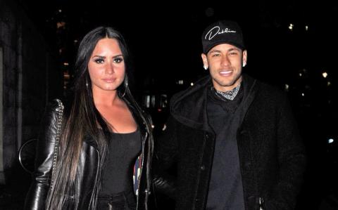 Demi Lovato y Neymar podrían tener una relación amorosa
