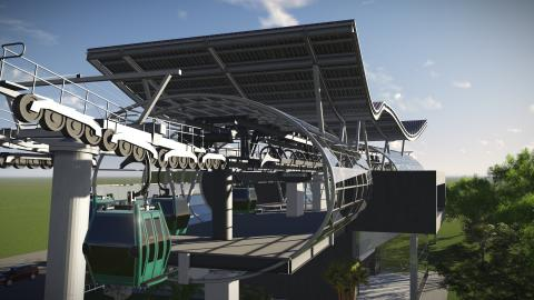 Villa Nueva lanza licitación para un teleférico sobre Villa Lobos