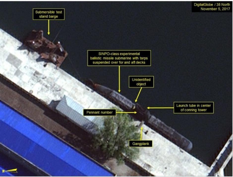 Imágenes satelitales revelan la próxima arma de Corea del Norte