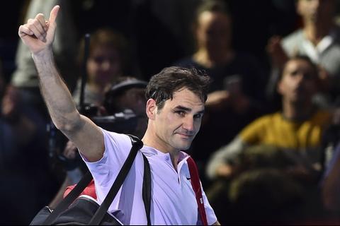 Federer no puede con un debutante y cae en la semifinal de Londres