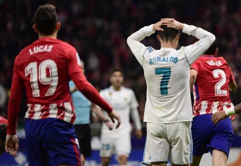 El empate complica La Liga al Real Madrid y al Atlético