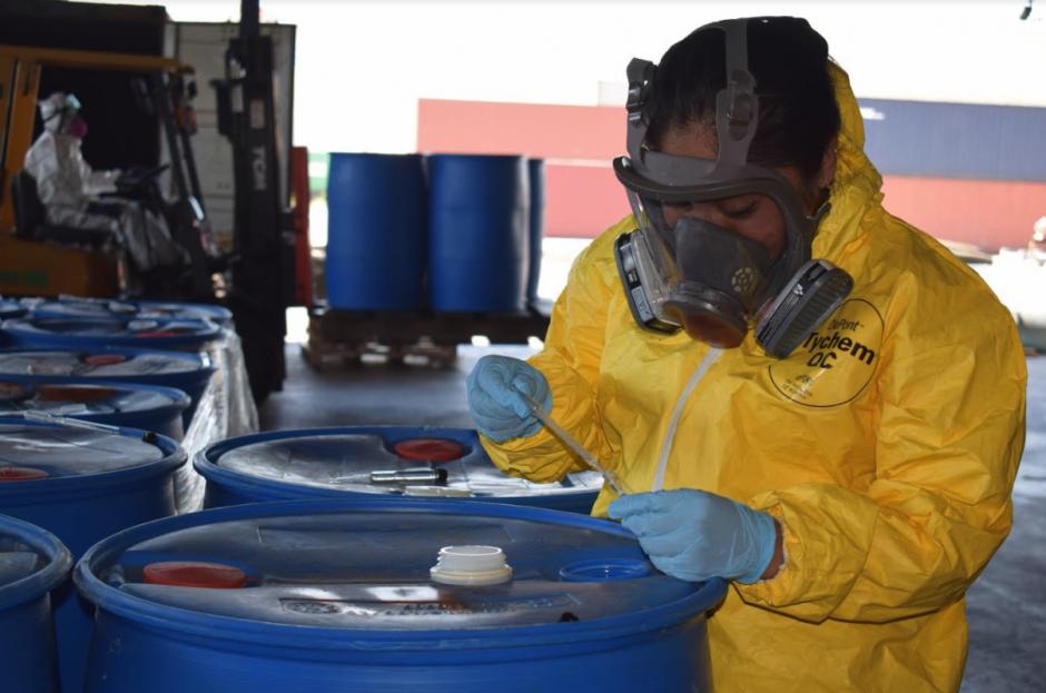 Destruyen más de 1 toneles de precursores químicos
